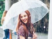 Làm đẹp mỗi ngày - Mẹo nhỏ trang điểm cho ngày mưa gió