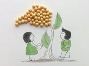 Bà bầu - Bộ tranh ngộ nghĩnh đáng yêu về mẹ bầu và những hạt đậu