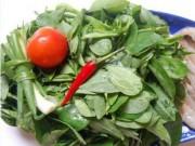 Bếp Eva - 3 tác dụng phụ đáng sợ của rau ngót cần phải biết trước khi ăn