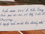 Xấp tiền chồng soái ca tặng vợ ngày 20-10 khiến chị em điên đảo