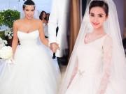 """9 chiếc váy cưới giá  """" trên trời """" , các cô dâu chỉ biết vừa ngắm vừa nuốt nước bọt"""