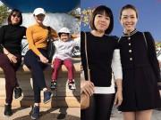 Làng sao - Diệp Bảo Ngọc đưa mẹ và con trai đi vi vu Nhật Bản