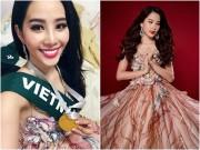 Làng sao - Nam Em đoạt huy chương bạc phần thi tài năng tại Hoa hậu Trái Đất