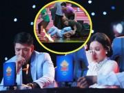 Làng sao - Bình Minh, Việt Hương khóc nghẹn vì cảnh nghệ sĩ múa lửa bị tai nạn cháy mặt
