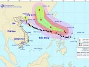 Bão số 7 vào vùng biển Quảng Ninh, suy yếu thành áp thấp nhiệt đới
