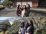 Làng sao - Bỏ rơi chồng, Lâm Tâm Như cùng hội bạn thân đi du lịch Nhật Bản
