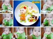 Mẹ Việt bày đồ ăn cực đẹp giúp con hết biếng ăn