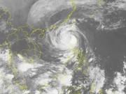 Siêu bão Hải Mã giật cấp 16 vào biển Đông, thành cơn bão số 8
