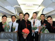 Xem & Đọc - Bất ngờ với chuyến bay toàn nam của Jetstar Pacific