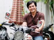 Oái oăm - Lộ clip Tiến Đạt đèo xe máy chở bạn gái hot girl đi chơi ở Ấn Độ_