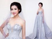 Thời trang - Hoa hậu Mỹ Linh hoá cô dâu khiến ai cũng muốn làm chú rể