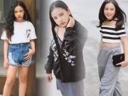 Cô bé Việt 10 tuổi mặc chất khiến người lớn cũng phải kiêng nể