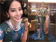 Làng sao - Nam Em bất ngờ giành tiếp huy chương Bạc phần thi Trang phục dạ hội