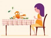 Bà bầu - Muốn con thông minh nhưng mẹ bầu lại quên ăn những thực phẩm này!