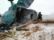 Rơi máy bay ở Nga: 19 người thiệt mạng, 3 người sống sót