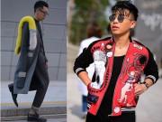 Thời trang - Hoàng Ku chất lừ đến từng centimet đi xem Seoul Fashion Week 2016