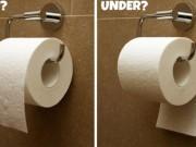 Đơn giản thế này thôi mà nhiều gia đình đang treo giấy vệ sinh sai cách
