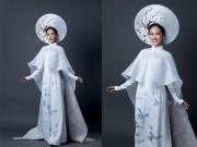 Thời trang - Quốc phục tuyệt đẹp của Phương Linh tại Hoa hậu Quốc tế