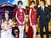 Làng sao - Ngọc Trinh nổi bật trên trên thảm đỏ ở Hàn Quốc