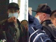 Làng sao - Ông xã Lâm Tâm Như khó chịu, chỉ thẳng mặt phóng viên vì bị đeo bám