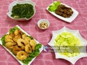 Bếp Eva - Thực đơn cơm chiều đơn giản mà ngon