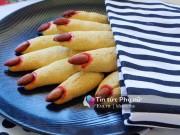 Bếp Eva - Bánh quy ngón tay rùng rợn cho lễ Halloween