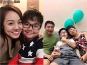 Làng sao - Công Lý đưa bạn gái mới đến chúc mừng sinh nhật con trai
