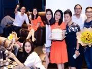 Làng sao - Hà Tăng giản dị đón sinh nhật tuổi 30 bên cạnh ông xã và bạn bè