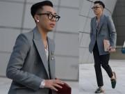 Thời trang - Hoàng Ku quyến rũ với áo lưới trong tiết trời Seoul se lạnh