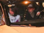 Làng sao - Cường Đô La lái siêu xe đưa Hạ Vi đi sự kiện