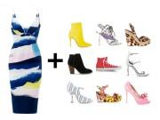 Tư vấn mặc đẹp - Thử tài phối đồ: Chọn giày hoàn hảo cho chiếc váy sexy sang chảnh