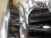 Tin tức - Thang cuốn trong trung tâm thương mại nổ tung, khách hàng hoảng loạn