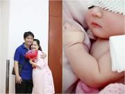 Làng sao - Di Băng khoe ảnh con gái thứ 2 mới sinh, da trắng hồng, đẹp như thiên thần!