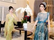 Hoa hậu Giáng My thay liên tục 2 trang phục trong một sự kiện