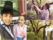 Làng sao - Bảo Anh - Hồ Quang Hiếu vi vu cùng nhau ở Hàn Quốc sau khi công khai tình cảm