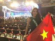 Nam Em ấm ức vì phần thi ứng xử dính sự cố tại CK Hoa hậu Trái đất