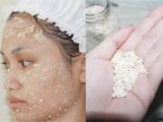 Làm đẹp - Bột yến mạch và 4 công dụng làm đẹp, dưỡng da cho những nàng lười