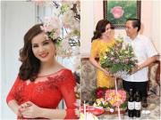 Làng sao - Hoa hậu Quý bà Kim Hồng đã ly hôn chồng hơn 1 năm