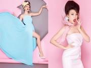 Thời trang - Á hậu Hoàng Oanh ngọt như kẹo bông với gam màu pop-art