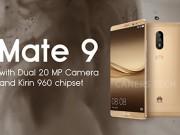 Eva Sành điệu - Huawei Mate 9 bản cao cấp có RAM 6GB, bộ nhớ 256GB
