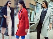 Thời trang - Muốn mặc áo khoác măng tô đẹp hãy ngắm Ngọc Hân ngay lập tức!