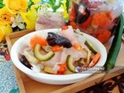 Bếp Eva - Rau củ ngâm chua ngọt giòn ngon chống ngán cho bữa ăn