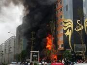 Tin tức - Cháy quán karaoke trên đường Trần Thái Tông: Đã xác định nguyên nhân ban đầu