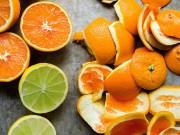 Nhà đẹp - Đừng bao giờ bỏ vỏ cam đi nếu bạn biết nó có công dụng tuyệt vời như vậy