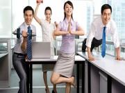 Sức khỏe - Những nguyên tắc giảm béo mỡ bụng cho dân văn phòng