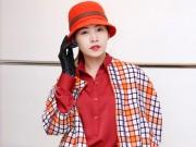 Thời trang - Chi Pu mặt mộc xinh tươi đi thử đồ để xem thời trang