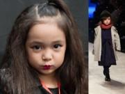 Thời trang - Cô bé Việt 5 tuổi xinh như Hoa hậu lấn át dàn chân dài đình đám