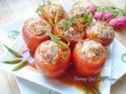 Bếp Eva - Cà chua nhồi hải sản tuyệt ngon