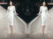 Thời trang - Á hậu Lệ Hằng hất tung váy khi làm vedette tại VIFW 2016