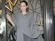 Làng sao - Angelina Jolie gầy rộc còn 34kg sau khi đệ đơn ly hôn